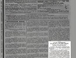 231300/1944 B. M. sz. rendelet