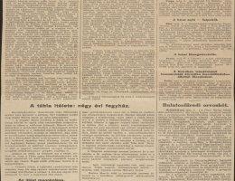 A Pest Hírlap beszámolója a Hatvany Lajos elleni perről (1928)